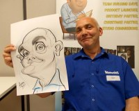 Caricature Artist UK Ireland Wales